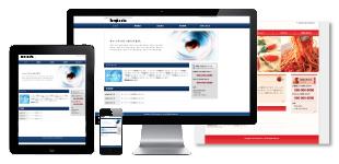 ホームページデザインのイメージ